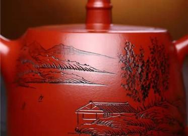 鲍明亚紫砂壶作品|原矿大红袍汉铎壶240CC全手工正品怎么样