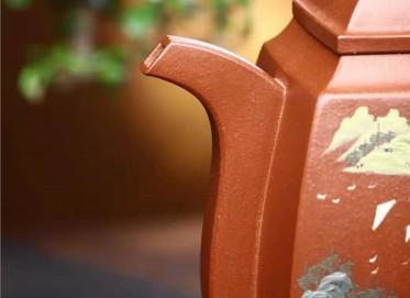 鲍明亚紫砂壶作品|原矿底槽清大汉方壶980CC手工正品怎么样
