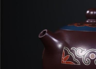 吴小楣紫砂壶作品|原矿紫泥西施壶290CC手制真品价值
