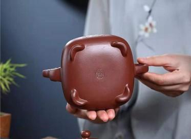 朱新南紫砂壶作品|原矿底槽清如意玉露壶400CC全手工正品怎么样