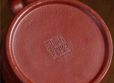王建南紫砂壶作品|原矿朱泥德钟壶230CC纯手工正品多少钱