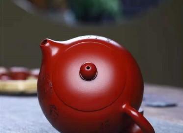 刘莹紫砂壶作品|原矿大红袍美人西施壶320CC手制真品价位