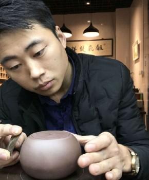 紫砂壶工艺师徐新正名家照片