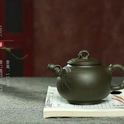 强国青作品 圆竹