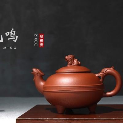 强国青作品 凤鸣