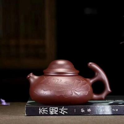 陈浩作品 渔翁壶