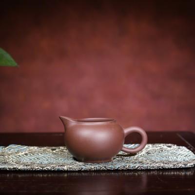 悠然紫砂作品 公道杯