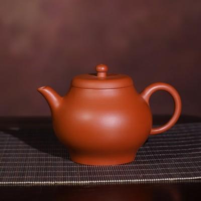 悠然紫砂作品 孟臣款潘壶