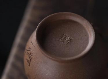 刘华紫砂壶作品 青虚公道杯·和畅壶 原矿老段泥 300cc 公道杯 助理工艺美术师 刘华紫砂壶价格,多少钱