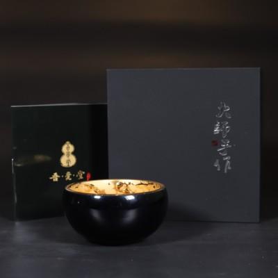 赖新奎作品 鎏金岁月品茗杯