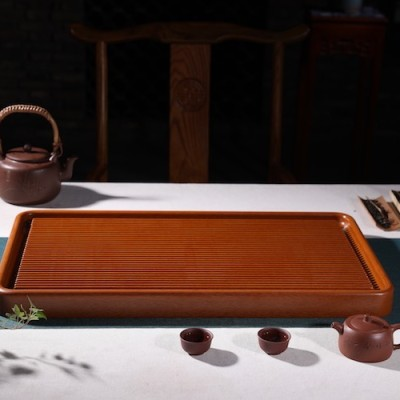 悠然紫砂作品 胶木茶盘