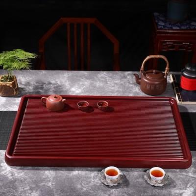 悠然紫砂作品 胶木茶盘3