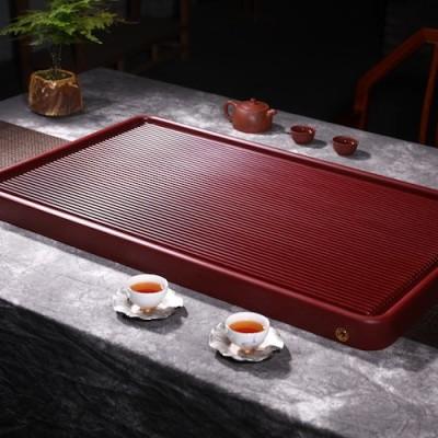 悠然紫砂作品 胶木茶盘4