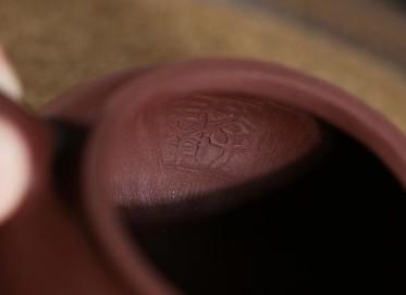 李群紫砂壶作品 仿古壶 原矿紫泥 180cc 光器 实力派艺人 李群紫砂壶价格,多少钱