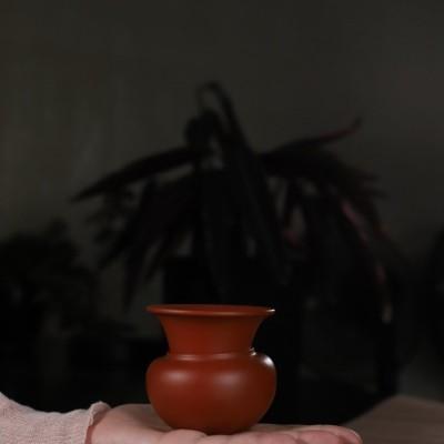 悠然紫砂作品 紫砂茶滤