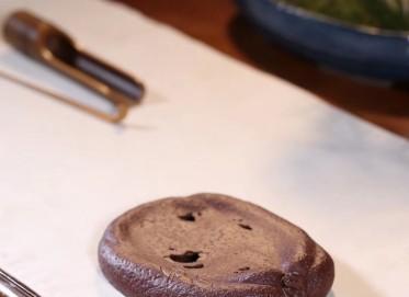 李群紫砂茶宠作品 瓜韵干泡 紫泥 民间艺人 李群紫砂茶宠价格,多少钱