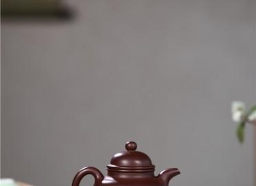 顾旭英紫砂壶作品 掇球壶 紫泥 240CC 国家级工艺美术师 掇球紫砂壶价格,多少钱