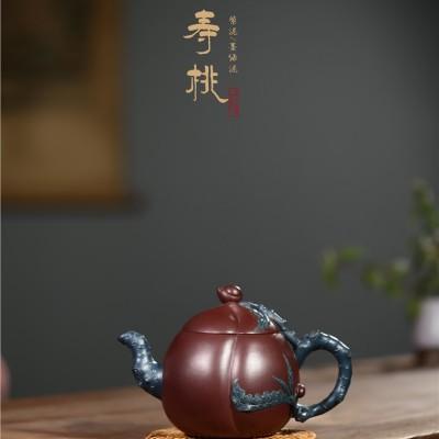 顾旭英作品 寿桃