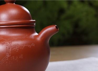 束旦生紫砂壶作品 掇球壶 朱泥 400CC 研究员级高级工艺美术师 掇球紫砂壶价格,多少钱