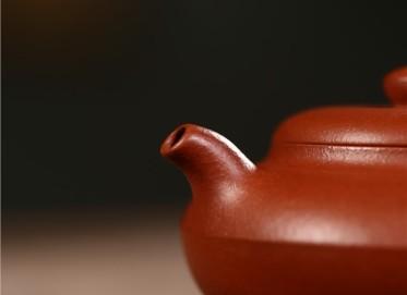 叶水君紫砂壶作品 原矿降坡泥合欢壶 230CC 助理工艺美术师 叶水君紫砂壶价格,多少钱