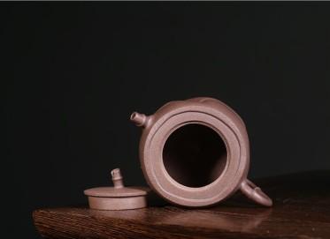 邵云琴紫砂壶作品 幽竹壶 珍藏老段泥 240CC 国家级工艺美术师 幽竹紫砂壶价格,多少钱