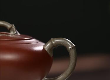 张剑紫砂壶作品 原矿底槽清逸香壶 350CC 国家级工艺美术师 张剑紫砂壶价格,多少钱