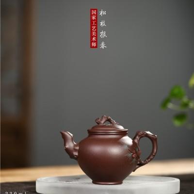 冯小俊作品 松枝报春