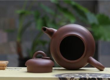 许成权紫砂壶作品 圈盖壶 原矿紫泥 260CC 研究员级高级工艺美术师 圈盖紫砂壶价格,多少钱