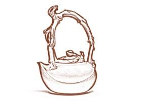 仙桃提梁壶