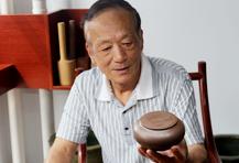 紫砂壶工艺师束旦生名家照片