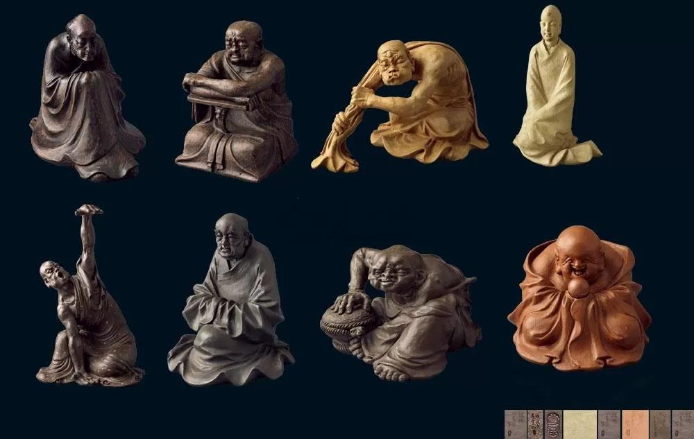 紫砂壶拍卖 徐秀棠紫砂雕塑《丑八怪》拍出145.6万元