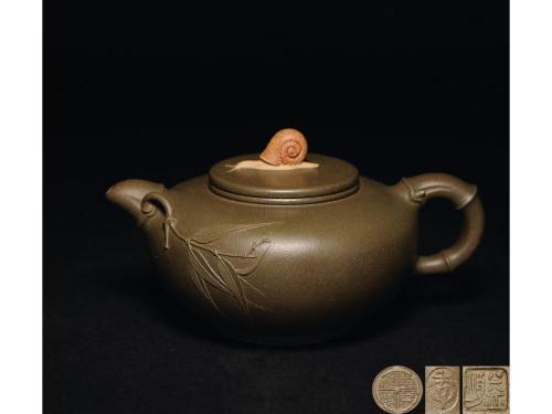 紫砂全手工壶与半手工壶的区别