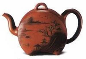 紫砂壶装饰工艺·泥绘