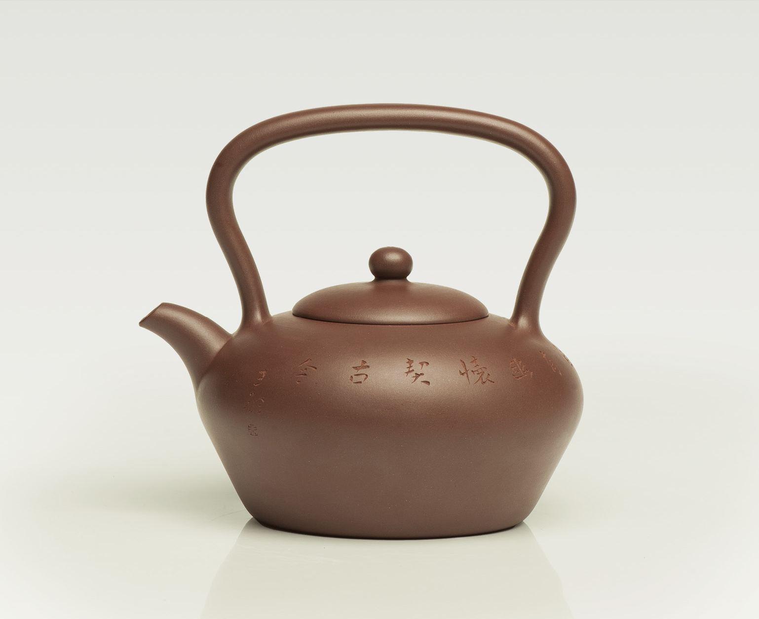 陈腐过的紫砂壶做的壶更润