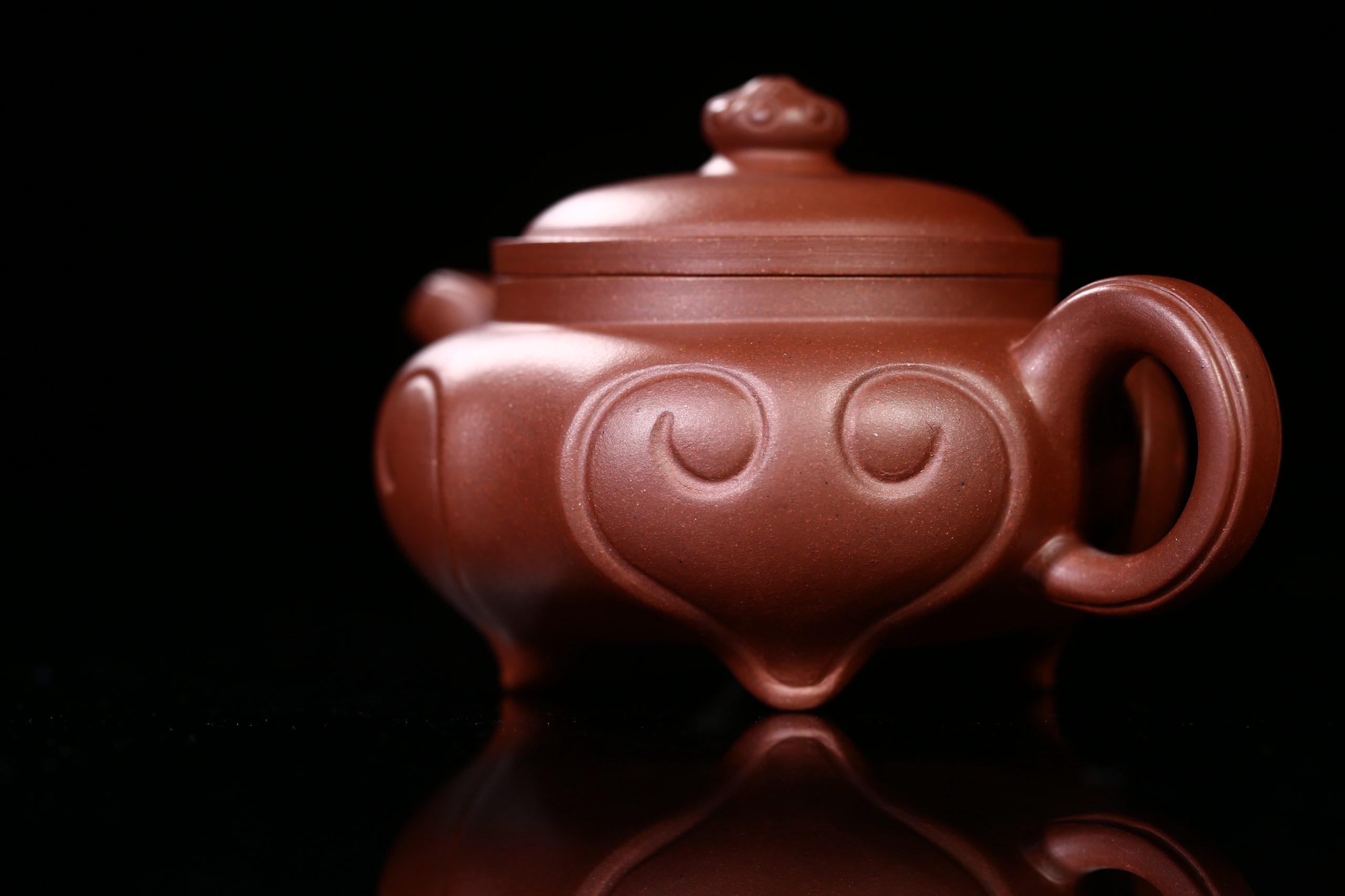 紫砂鉴赏丨鲍正兰·小四季如意壶