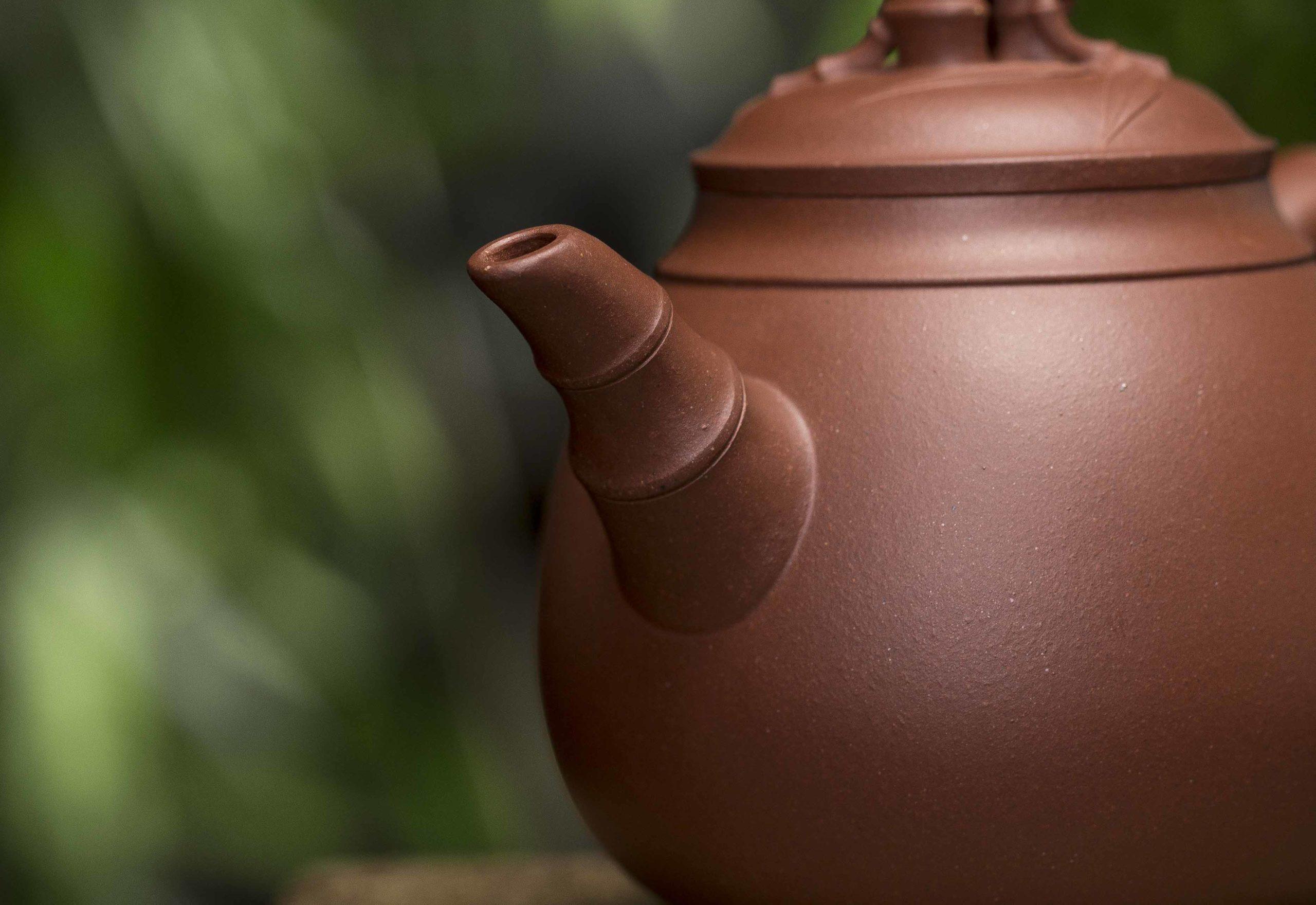 紫砂鉴赏丨许成权·胆竹壶