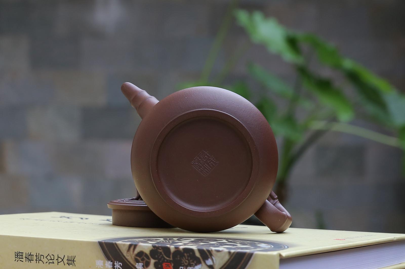 紫砂鉴赏丨许成权·小成竹壶