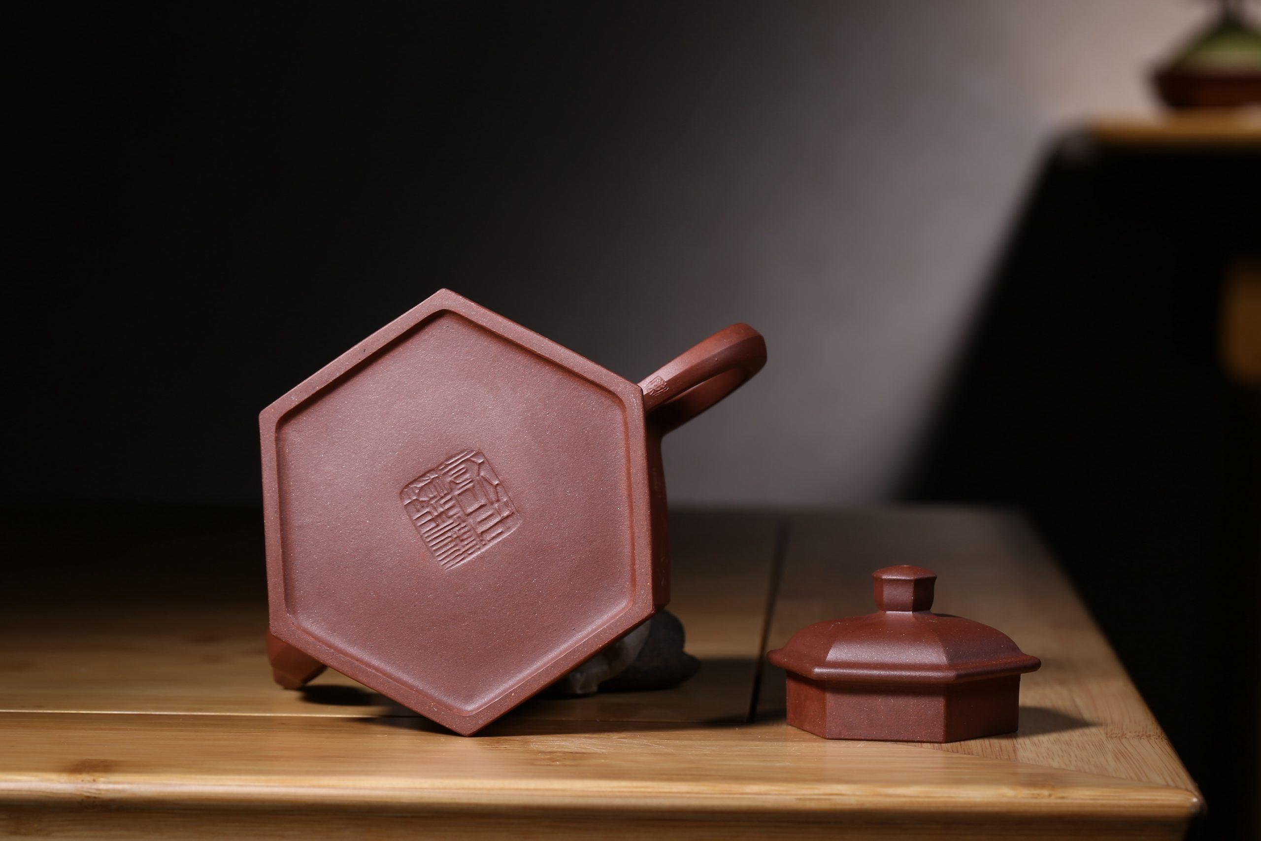 紫砂鉴赏丨庄玉林·六方醒辰壶
