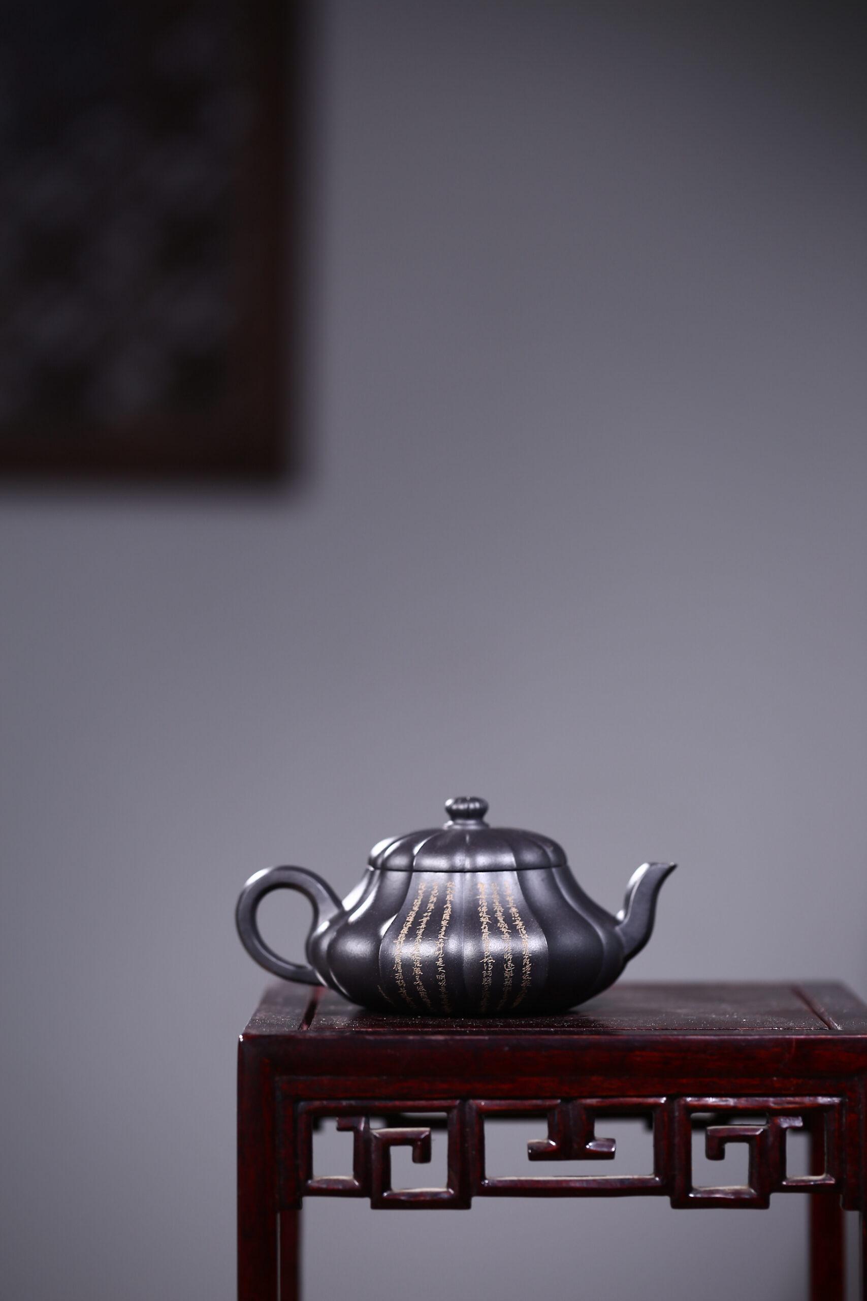 紫砂鉴赏丨徐勤·菱香君德壶