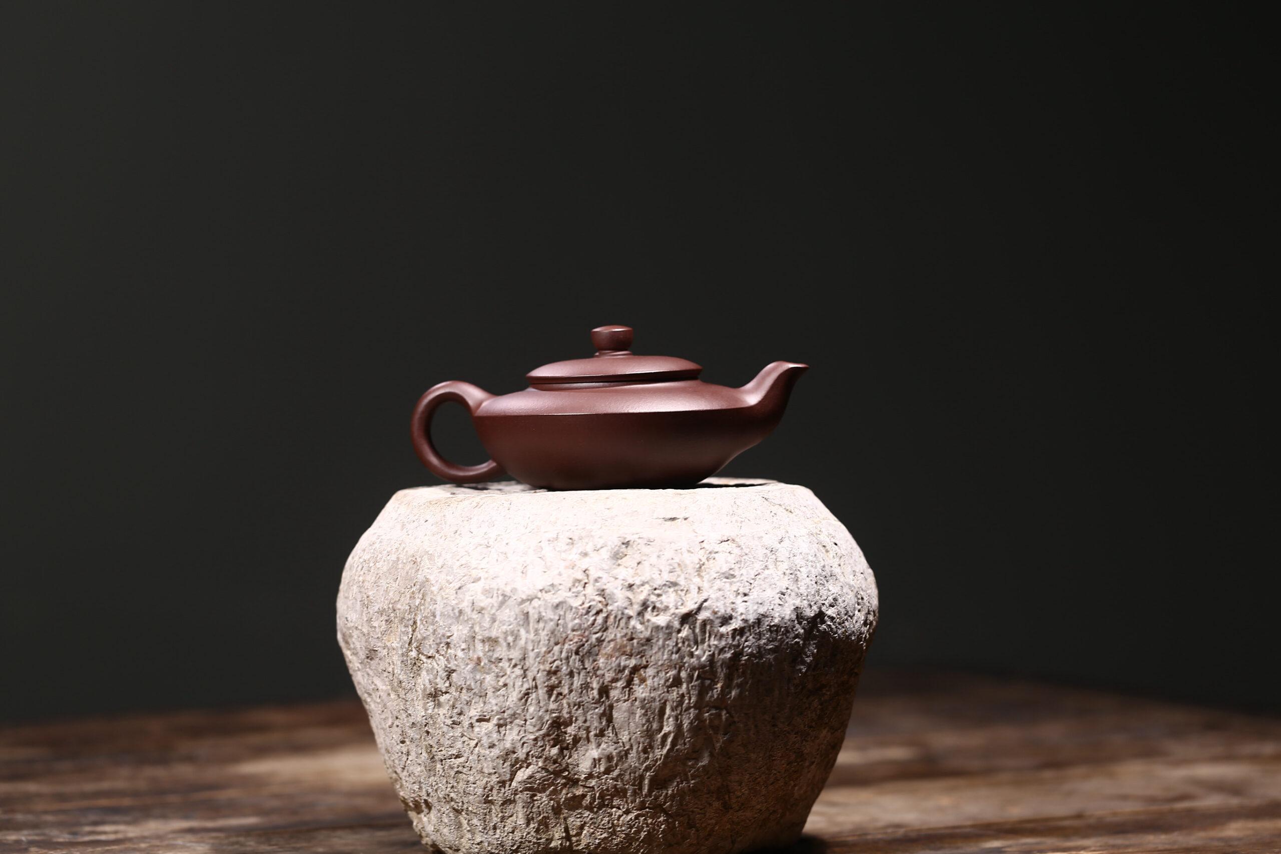 紫砂鉴赏丨葛岳纯·汉扁壶