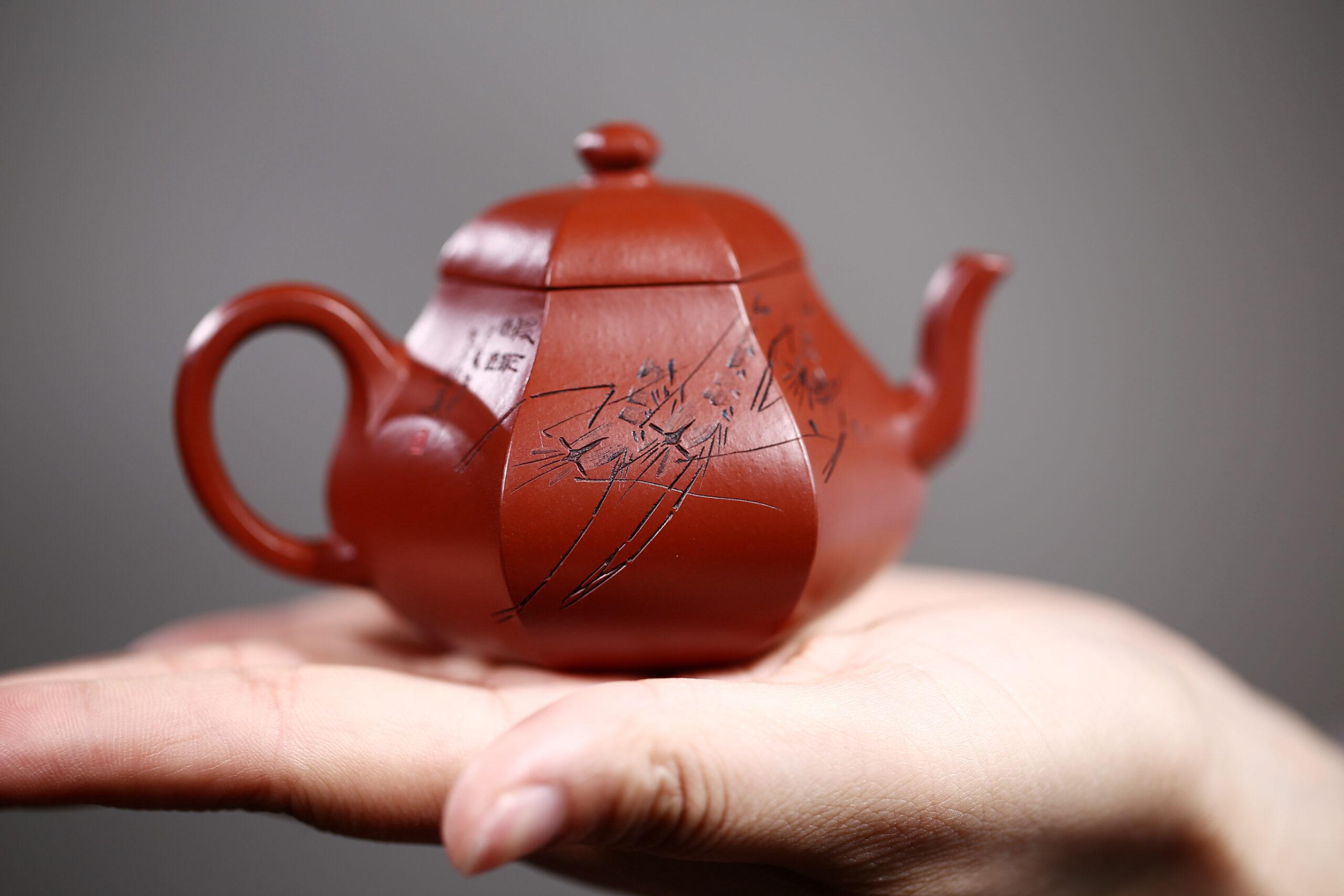 紫砂鉴赏丨徐勤·六方梨式壶