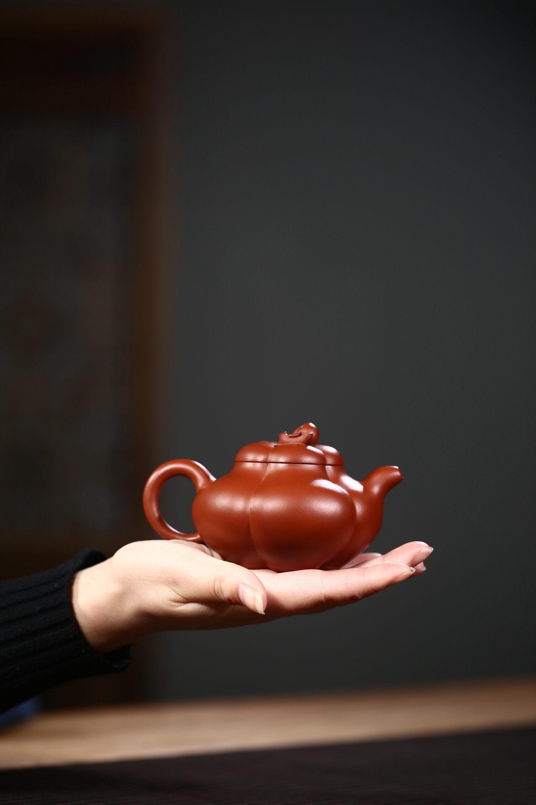 紫砂鉴赏丨徐勤·上合桃壶