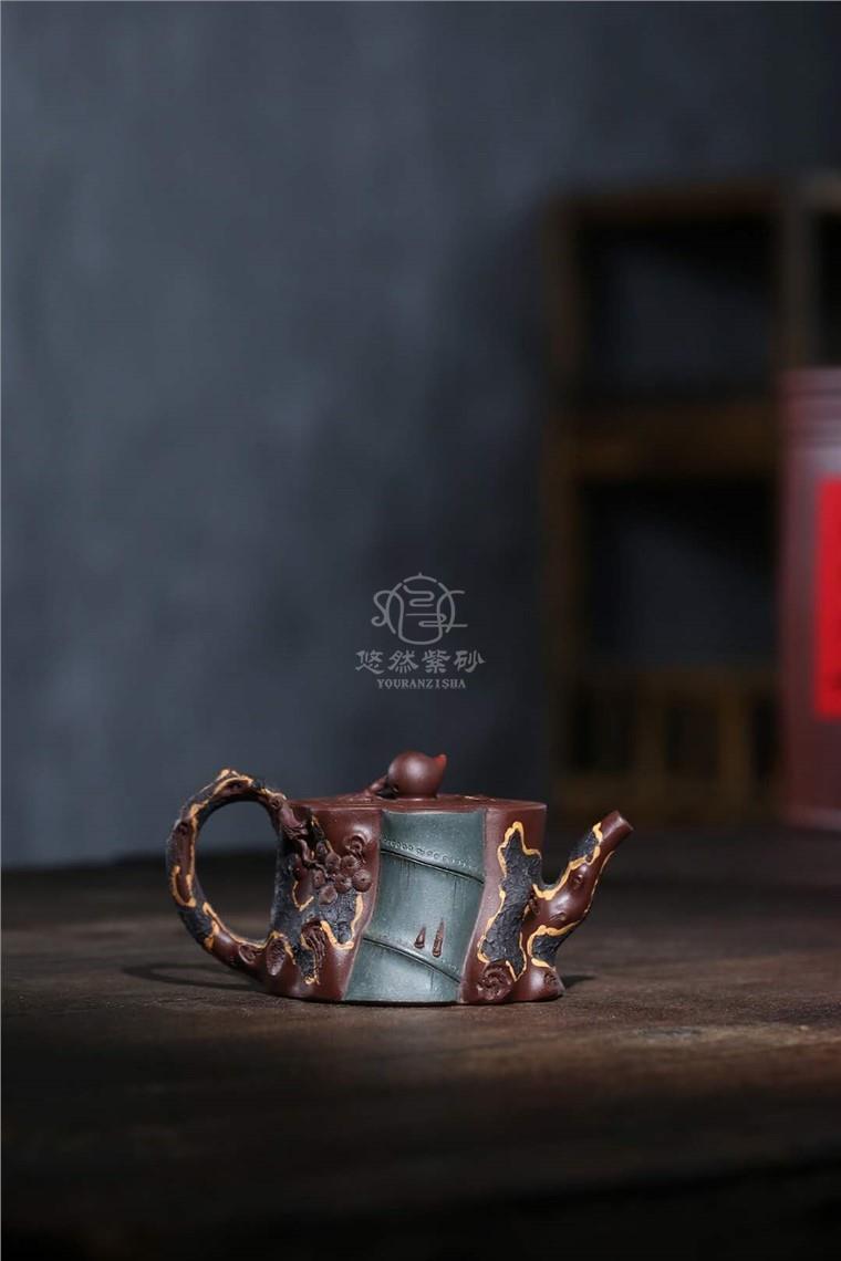 蒋艺华作品 祝寿长青壶图片
