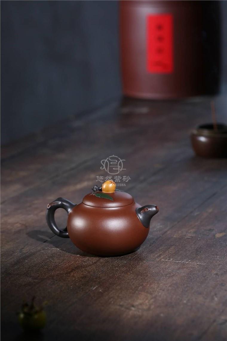 蒋艺华作品 枇杷壶图片