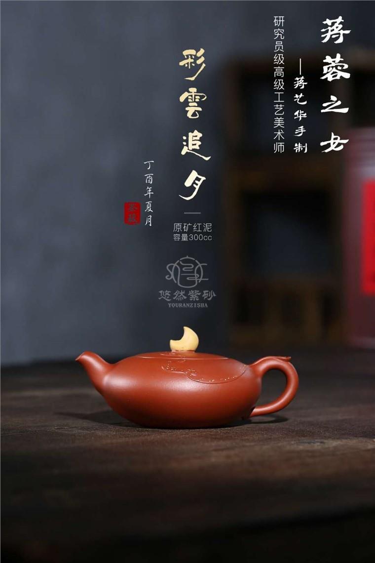 蒋艺华作品 彩云追月图片