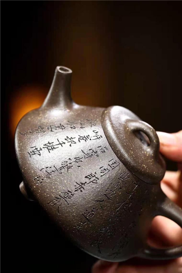朱正琴作品 子冶石瓢图片
