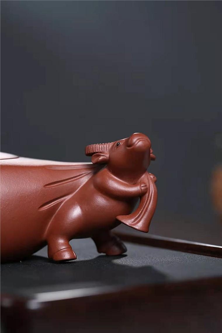 陈亚萍作品 牧牛壶图片