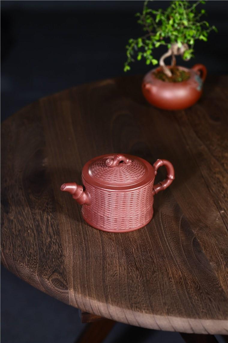 韩洪波作品 竹编竹段图片