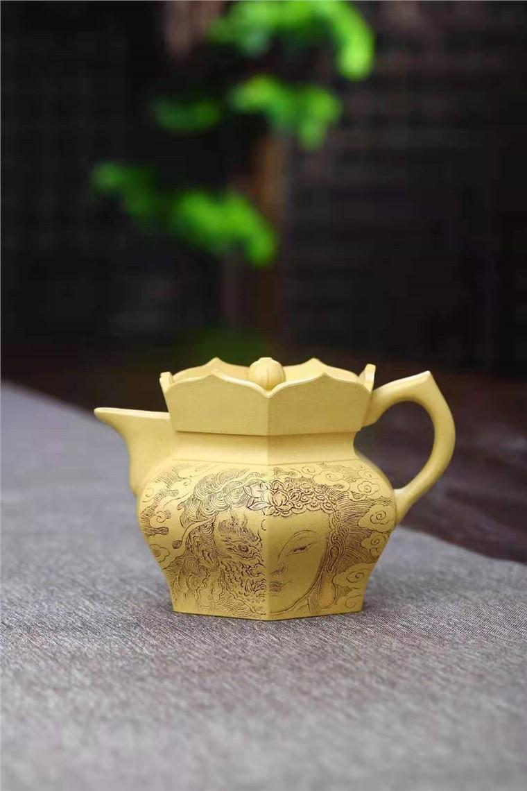 王玉芳作品 僧帽壶图片