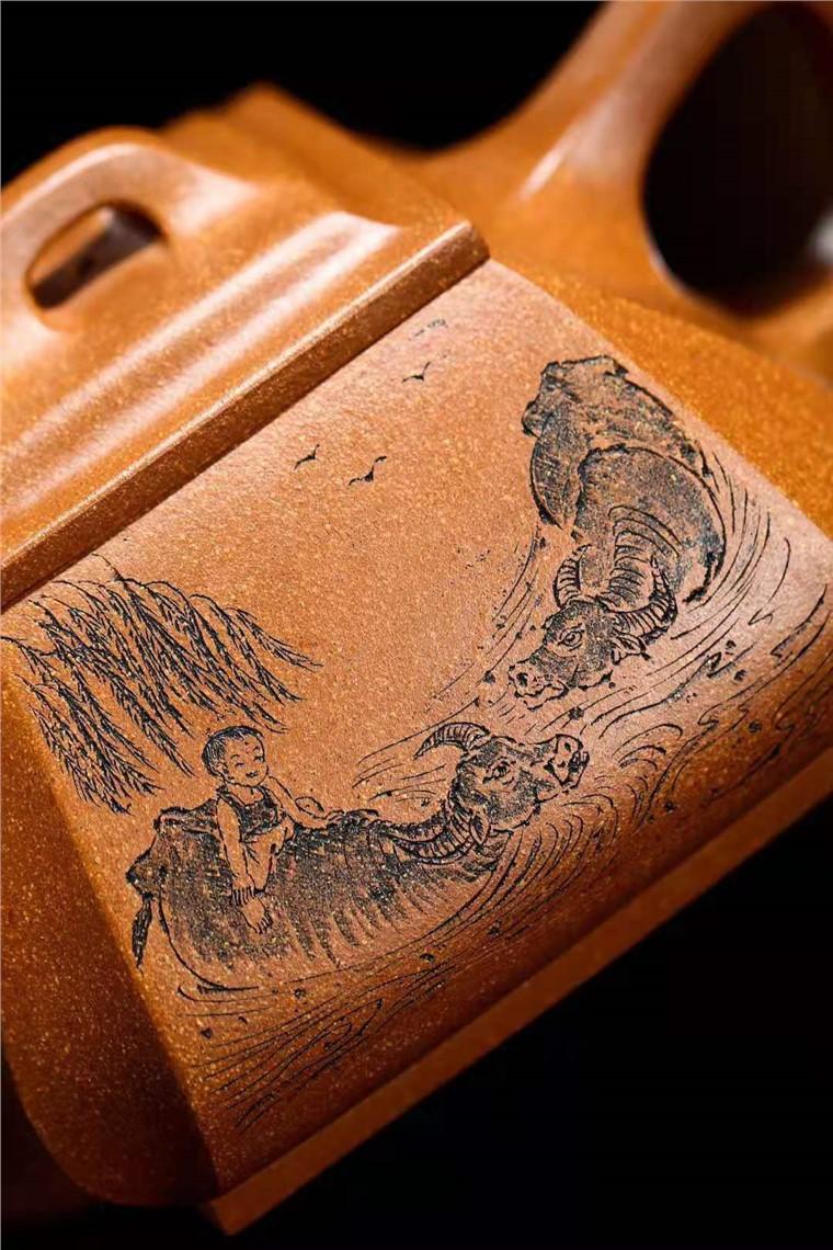 储国峰作品 抽角石瓢图片